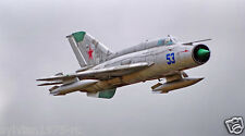 FREEWING  Mig-21  SILVER  80mm EDF JET PNP VERSION  NEW IN BOX
