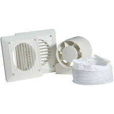 NEW 100mm In-line Shower Extractor Fan Kit Timer Each