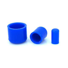 16mm Blue Silicone End Cap