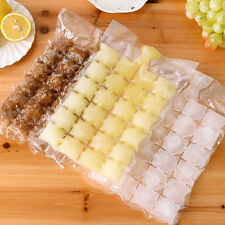 10Pcs/set New Self-sealing Ice Packs Portable Disposable Ice Cube Tray Mould Bag