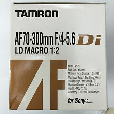 Tamron AF 70-300mm f/4-5.6 Di LD Macro 1:2 A17S for Sony A-Mount & Minolta AF