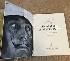 Salvador Dali - Hommage À Meissonier -Hotel Meurice (w/ 4 ORIGINAL LITHOGRAPHS)