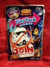 Star Wars Rebels Play Pack Grab & Go! Coloring Book Crayons Stickers Travel
