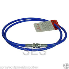 """Airless whip hose 1m 3/16"""" 3300psi"""
