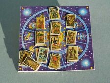 DOLLHOUSE MINIATURE ~ HALLOWEEN TAROT CELESTRIAL BOARD by LORRAINE SCUDERI