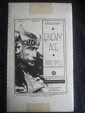 Enemy Ace War Idyll Limited HC Edition #292 Signed by George Pratt