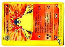 POKEMON EXPED ENGLISH RARE N°  64/165 TYPHLOSION 100 HP