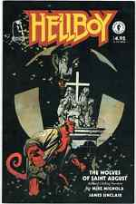 Hellboy The Wolves of Saint August  Mike Mignola BPRD HTF