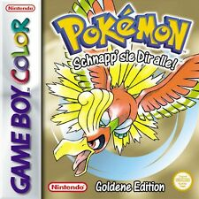 GameBoy Color Spiel - Pokemon Goldene Edition (DEUTSCH) (mit OVP)