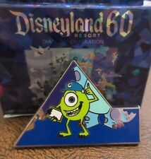 MIKE CHASER Disneyland 60 Mystery Box Puzzle #4 Pin LE550 Disney Diamond