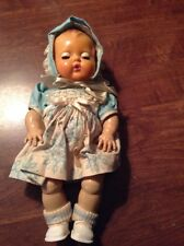 VINTAGE 1950s AMERICAN CHARACTER TINY TEARS 11 1/2 In DOLL