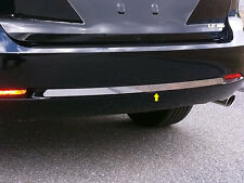 FITS TOYOTA VENZA 2009-2015 STAINLESS STEEL CHROME REAR BUMPER ACCENT INSERT 1PC