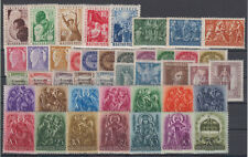 Hungary church motives,workers 43 stamps 1919-1949 MNH **