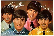 The Beatles ++Autogramm++ ++Kultgruppe der 60er Jahre+2