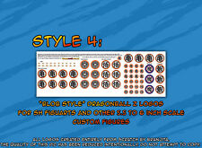 Dragonball Z SH Figuarts size logo stickers for figures custom made Branjita v.4