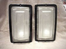 Turn Signals Pair 1977 - 1978 Dodge Pick Up And Ramcharger Clear