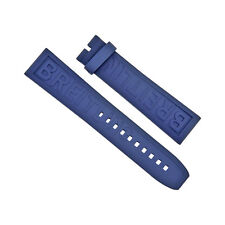 Breitling Blue Rubber Strap  22-20mm