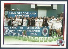 PANINI-FOLLOW FOLLOW THE GERS 2001- #130-RANGERS-LEAGUE CHAMPIONS-PARTY TIME...