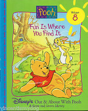 Out & About With Winnie The Pooh - Fun Is Where You Find (Grow & Learn Library)