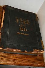 1886 Yale University Year Book Pach Bros College HIstorical Memorabilia S.S.S.
