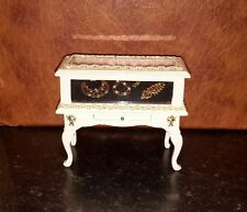 Dolls house jewellery display cabinet