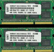 8GB (2X4GB) MEMORY FOR DELL STUDIO XPS 1640 XPS 1645 XPS 1647