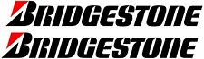 2 x Bridgestone Decals Stickers Vinyl 150mm Any Colour
