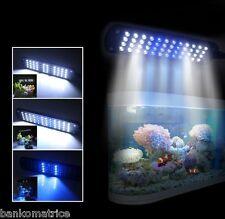 Lampe 28 LED Lumière Etanche Eclairage Poisson Aquarium Déco Blanc Bleu 110-240V