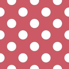 GALERIE OFFICIAL DISNEY MINNIE MOUSE POLKA DOT PATTERN CHILDRENS WALLPAPER RED