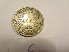 Reichsmark, 1 Mark, Reichsmünze, 1903 Buchstabe A, silber,  unbehandelt, top (6)