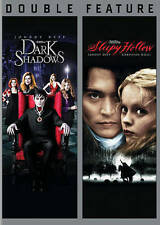 Dark Shadows/ Sleepy Hollow (DVD, 2015, 2-Disc Set) Johnny Depp, Free Shipping !