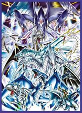 2016Winter Yu-Gi-Oh! Blue-Eyes White Dragon LIMITED Card Sleeves Ultimate Azure