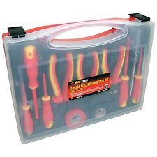 Am-Tech 11pc Electrical Electricians Tool Kit 1000V AC & 1500V DC