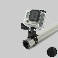 90 ° NERO/BLACK SML GoPro HERO BICICLETTA BIKE skipole Handlebar Mount supporto