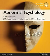 NEW 3 Days US Abnormal Psychology 17E Mineka Hooley James N Butcher 17th Edition