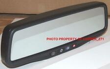 GM OnStar Mirror & Rostra Tailgate Backup Camera Kit B For 2009-14 Silverado