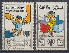 Bahrain 1979 Mi.282/83 fine used Year of the child Jahr des Kindes [g1851]