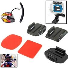 6pcs Portable Helmet Flat Curved Adhesive Pads Sticker For Gopro HD Hero 1 2 3