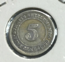 1898 Q.V  5 cents silver coin -good details ! coin OFFER!