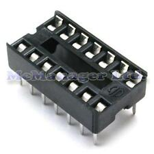 5x 14 Pin RoHS PCB IC Socket DIL/DIP 14 0.3""