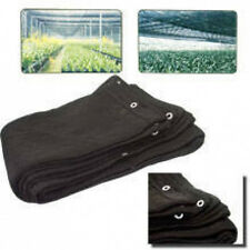 10 x 10 BLACK MESH NET SUN SHADE TARP FOR PORCH OR GREENHOUSE CANOPY SUNSHADE