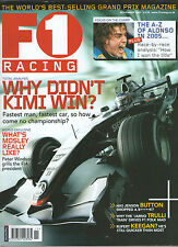 F1 RACING--THE WORLDS BEST SELLING GRAND PRIX MAGAZINE *FANTASTIC BACK ISSUE*-