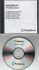 COLDPLAY The Blue Room original 1999 UK 5-trk promo test CD