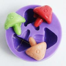 Nicole Mushroom Silicone Mold Fondant Cake Decoration Tools Resin Craft Jewelry