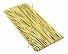 200x Bamboo Skewers Sticks For Barbecue BBQ Shish Kebab Fruit Wooden Sticks 10""