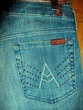 "7 for all Mankind ""A"" Pocket Crystal Embellished Jean JU130Y461C Size 27 x 31"""