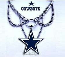 DALLAS COWBOYS CHOKER NECKLACE NFL JEWELRY - WHAT A COWGIRL WANTS  FREE SHIP #B*