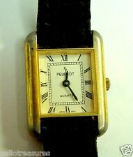 Peugeot Ladies  Watch Leather Strap Good Condition