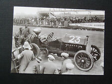 CPM Reproduction La Belle Epoque Ravitaillement sur le circuit de Dieppe