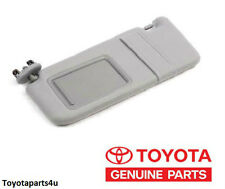 Toyota Camry Gray Drivers Side Sun Visor with Mirror New Factory Toyota 2007-11